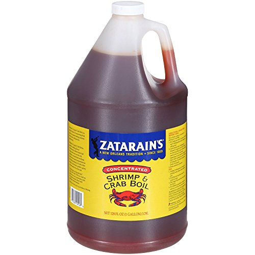 Zatarain's Concentrated Liquid Shrimp & Crab Boil (1 gal.) - (Original from manufacturer - Bulk Discount available)