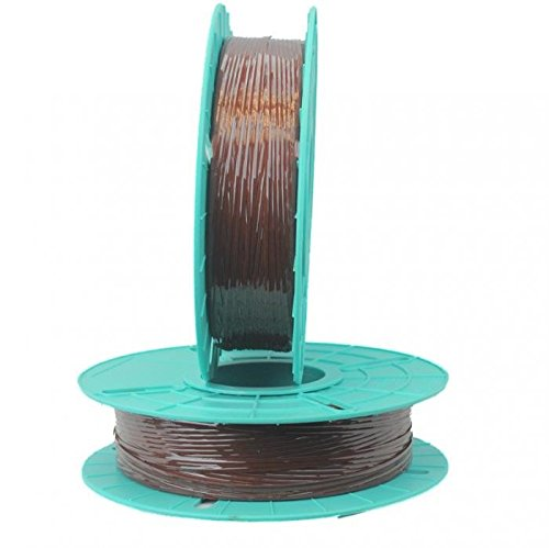 2.500 ft. Standard Paper / Plastic Tan Twist Tie Ribbons (10 Spools) - 03-2500-Tan by Miller Supply Inc