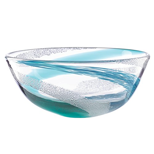 Lenox Seaview Bubble Swirl Bowl (Lenox Elegance Crystal)