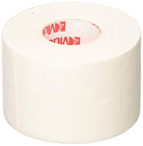 """Mueller Athletic Tape, 1.5"""" x 10yd Roll, White, 6 Pack"""