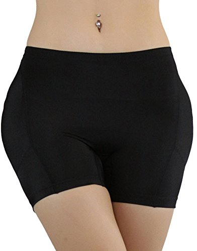 ToBeInStyle Women's Butt and Hip Padded Panty - Black - X...