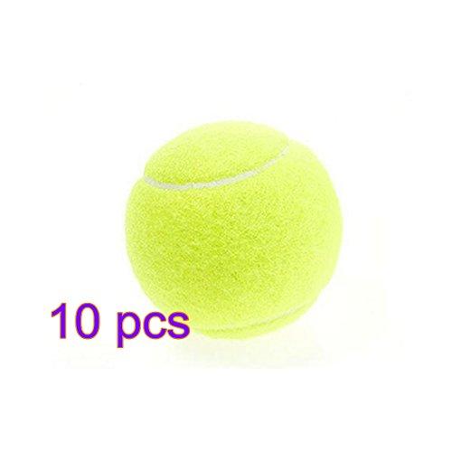 Youkara 1 PC Tenis Formación Profesional Tenis de Alta Elasticidad Adecuadas Dura Pisos Alfombras Cubierta Césped Artificial y Césped Colorido-3
