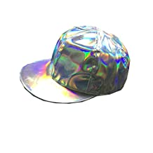 Marty Mcfly Hat Rainbow Cap Adjustable Back to the Future Cosplay