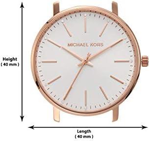 Michael Kors Pyper Three-Hand  Stainless Steel Watch 7