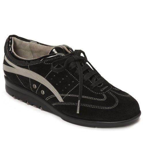 Aerosoles Mujeres Air Cushion Fashion Sneaker Black