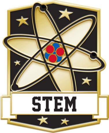 Crown Awards Science STEM Education Pins - Science Pins - Academic Lapel Pins 20 Pack Prime