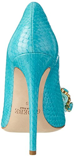 GEDEBE Veronique 01 - Tacones Mujer Turquesa (TURQUOISE SNAKE)