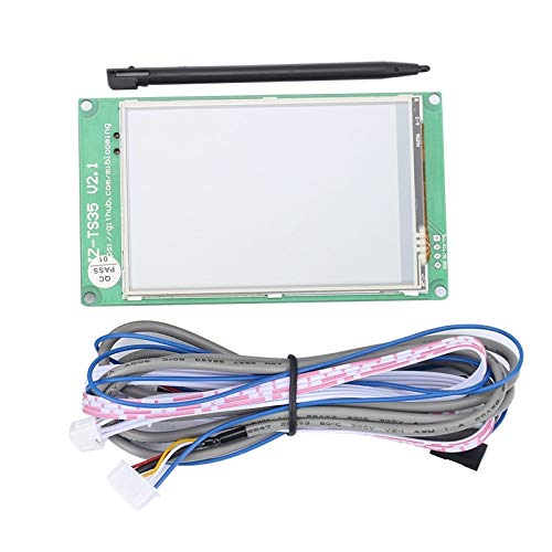Zamtac 3.5 inch Full Color LCD Touchs Display Screen Compatible with Ramps1.4 with Power Resume/Open Source for 3D Printer Accessories by GIMAX (Image #1)