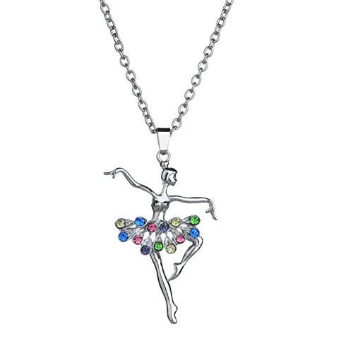 Necklace Opeof Vintage Glow in The Dark Cross Dragon Pendant Necklace Luminous Halloween Jewelry - Blue -