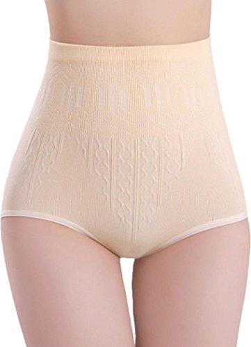 DITTMURI Women Everyday Sports High Waist Butt Lifter Tummy Control Seamless Panty Briefs (Brief Control Everyday)