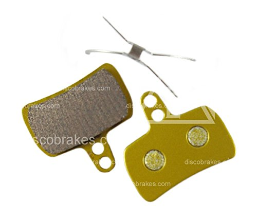 1 Pair Hope Mono Mini Sintered Disc Brake Pads + Spring DH XC Mountain Bicycle ()