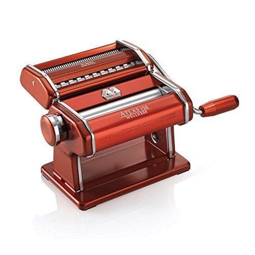 Luxury Home Atlas 150 Red Steel Pasta Machine
