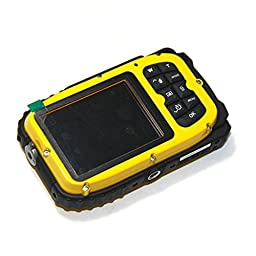 Waterproof camera,Bigaint BG003 16MP 8x Zoom Cameras 2.7 Inch LCD Digital Camera 10m Underwater Waterproof Camera --Yellow