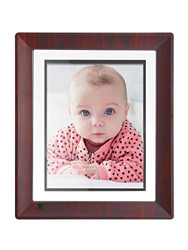 BSIMB Digital Picture Frame 9 Inch WiFi Digital Photo Frame 16GB 1067x800(4:3) IPS Touch Screen Auto Rotate Motion Sensor Support iPhone & Android App/Twitter/Facebook/Email W09 (Auto Wifi)
