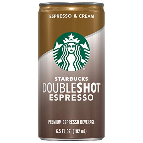 Starbucks Doubleshot, Espresso + Cream, 6.5 Ounce, 12 Pack by Starbucks