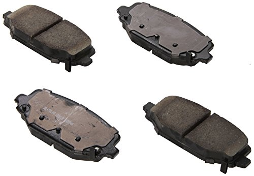 ACDelco 17D1596CH Professional Ceramic Rear Disc Brake Pad Set