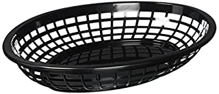 TABLECRAFT (1084BK) - OVAL PLASTIC SERVING BASKET, BLACK (PACK OF 12) (B00BN90HNW) | Amazon price tracker / tracking, Amazon price history charts, Amazon price watches, Amazon price drop alerts