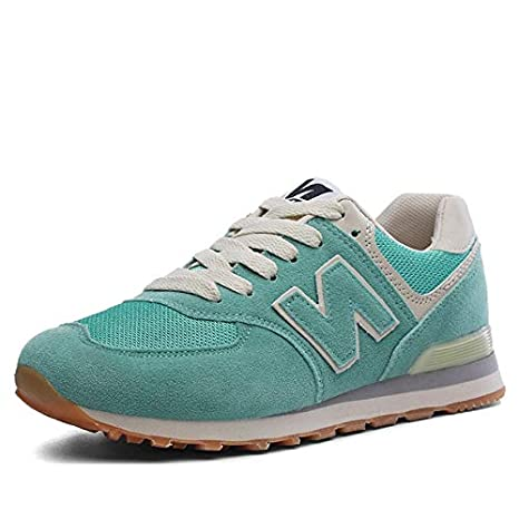 Amazon.com: BEESCLOVER Women Running Shoes Brand Lightweight Sport Shoes Female Outdoor Breathable Sneakers Damping Anti Collision Suede Women Sneakers Gray ...