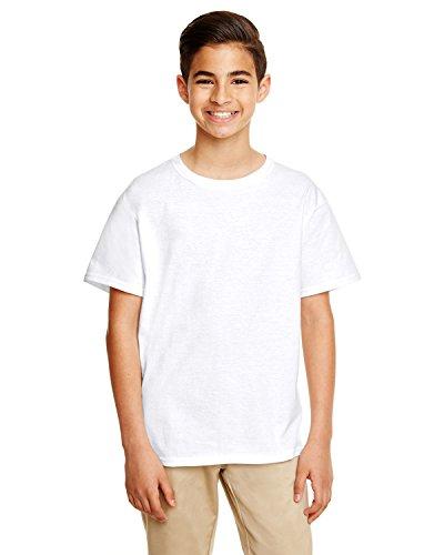 By Gildan Gildan Youth Softstyle 45 Oz T-Shirt - White - XS