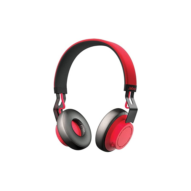 Jabra Move Wireless Stereo Headset - Red