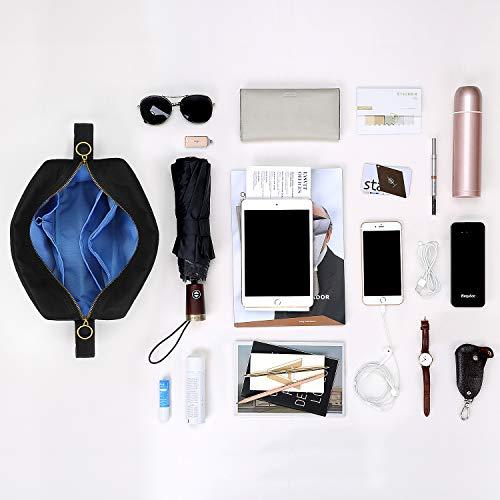BONTHEE Casual Bag 8 with Bags Handbag Shoulder Black Messenger Crossbody Pockets EqTnx5rEwC