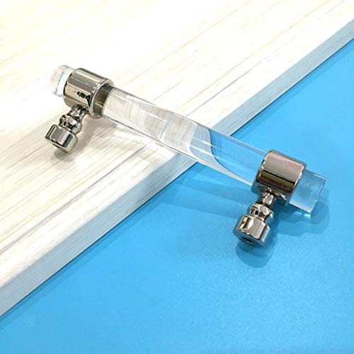 T Bar Door Handle Pull Knob Rod Kitchen Cabinet Cupboard Chrome 120mm