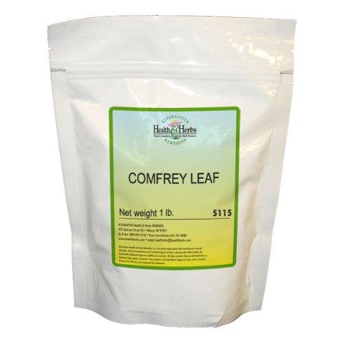 Santé Alternative et fines herbes remèdes consoude Leaf, Livre 1-Sac