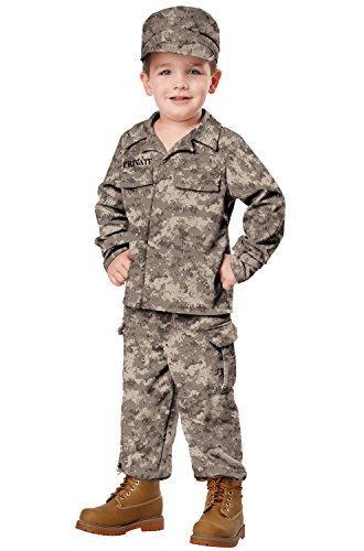 Decent Halloween Costume Ideas (California Costumes Soldier Costume, One Color,)