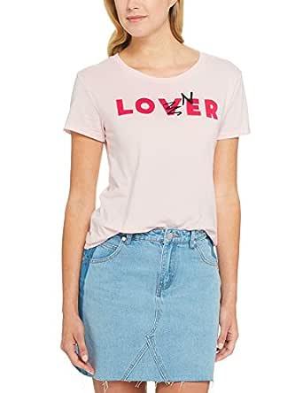 Levi's Women's The Perfect Tee Sportswear Logo, Mauve Chalk, XS -
