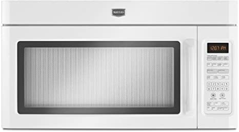 Amazon.com: Maytag mmv5208ww 2.0 CU. FT. Blanco over-the ...
