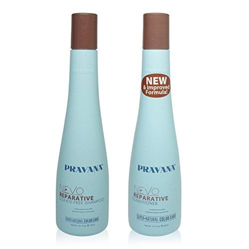 (Pravana Nevo Reparative Shampoo & Conditioner 10oz (natural evolution of hair care))