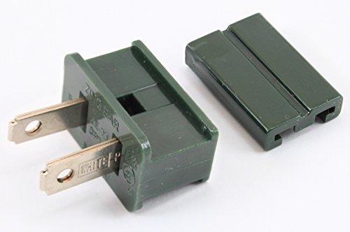 Ears Vampire (Zing Ear Male Gilbert/Vampire Plug for SPT-2 Cable, Dark Green, 25 Pack, UL Listed)