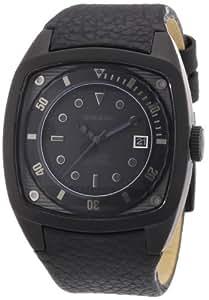 Diesel DZ1492 - Reloj analógico de cuarzo para hombre con correa de piel, color negro