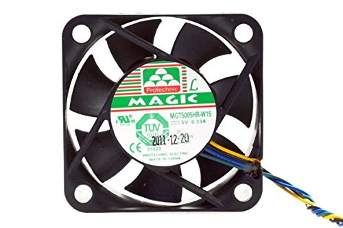 PartsCollection DC 5V Fan 50MM 4-Wire PWM Function