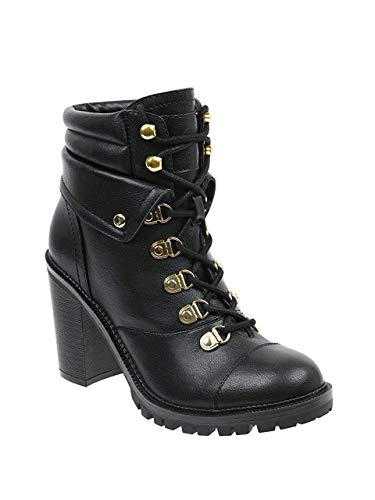 G By Guess Womens Jollyn Round Toe Ankle Fashion Boots, Black, Size 5.0
