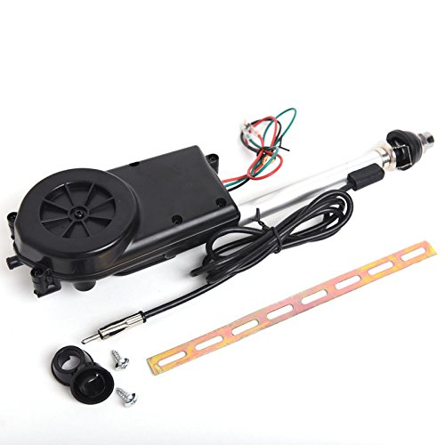 12V Electric Power Antenna Replacement Kit Car AM FM Radio Mast Aerial
