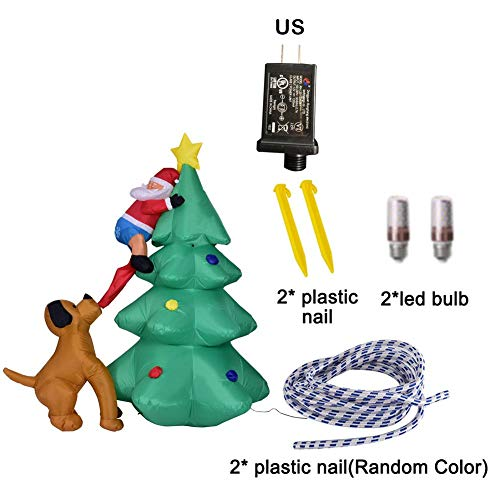 Santa Claus Garden Lights in US - 6