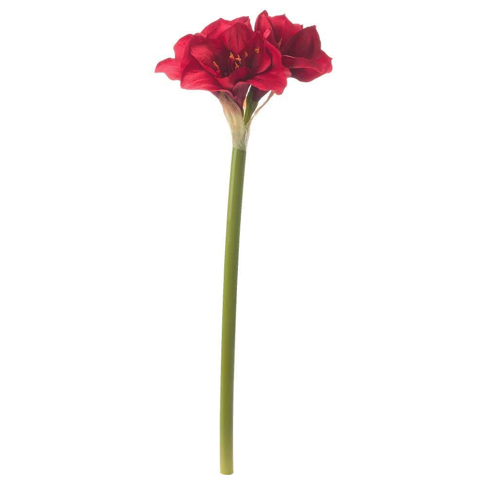 IKEA-ASIA-SMYCKA-Artificial-Flower-Amaryllis-red
