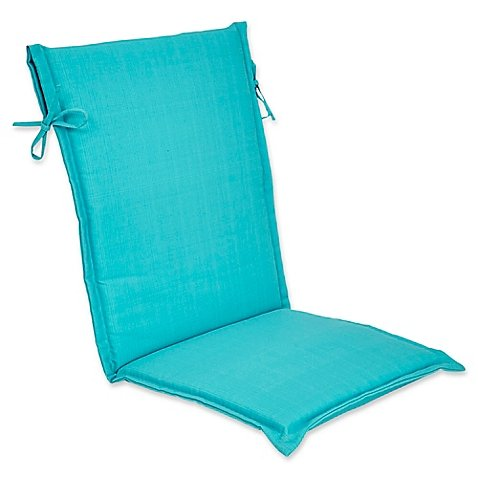 Outdoor Forsyth Sling Back Chair Cushion in Ocean (Papasan Cusions)