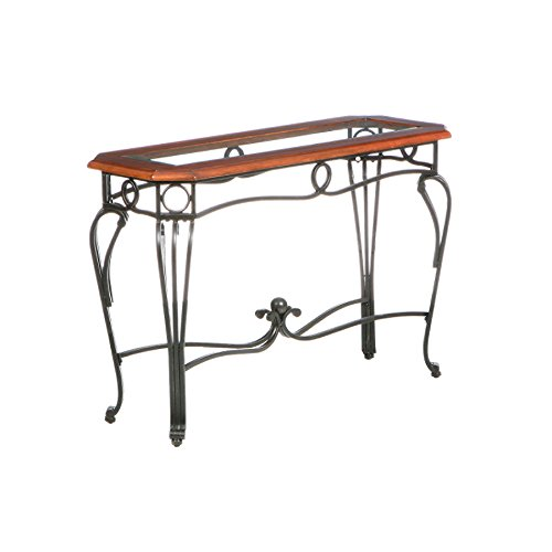 Elegant Entryway Console Sofa Table, Metal Frame Construction With Metal  And Tempered Glass Tabletop + Expert Guide