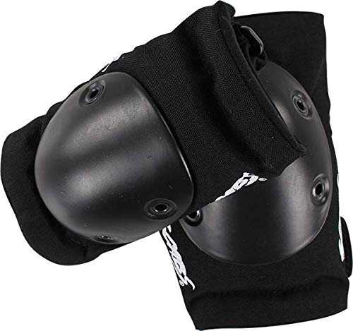 Smith Safety Gear Scabs Elite Black Elbow Pads - X-Small