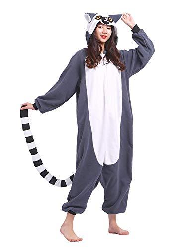 Comprar Pijamas Animal Cosplay Disfraz Lemur Ropa De Dormir - Tiendas Online de Pijamas de Animales - Calientes - Envíos Baratos o gratis