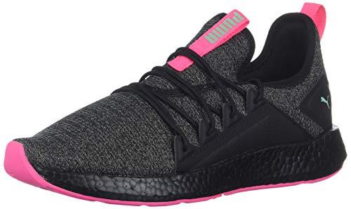 PUMA NRGY Neko Knit Kids Sneaker Black-Knockout Pink, 6.5 M US ()