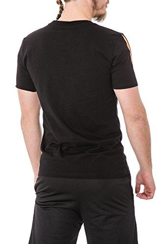 Herren regular fit printed t-shirt 33305 S Orange