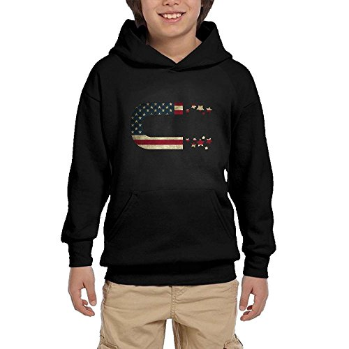 Garypot Science Chick Magnet Youth Sweatshirts Pocket Pullover Hoodies L