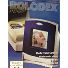 Rolodex Home: Photo Frame Card File
