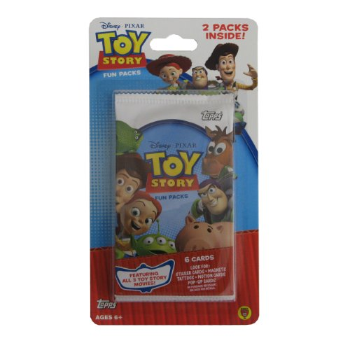 Toy Story Trading Cards and Stickers Blisters (2 Packs)