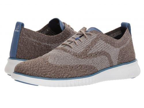 Cole Haan(コールハーン) メンズ 男性用 シューズ 靴 スニーカー 運動靴 2.Zerogrand Stitchlite Oxford - Morel/Rock Ridge/Riverside/Optic White [並行輸入品] B07BL65D67