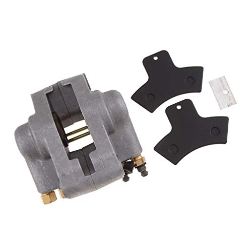 Almencla Rear Hand Brake Assembly Master Cylinder Caliper Pads For Polaris Sportsman: