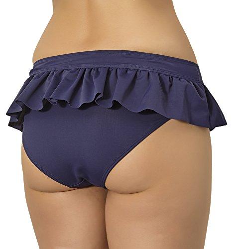 Merry Style Shorts de Ba?o para Mujer Modelo Sashia Azul Oscuro (6007)